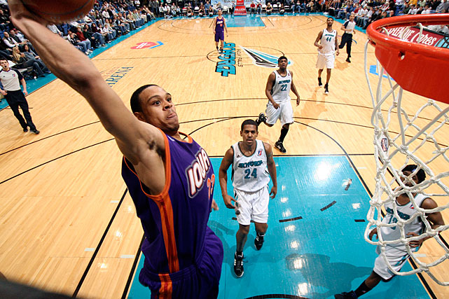 The Suns guard spent time in the D-league during his first and second seasons as a pro, making one appearance for the Albuquerque Thunderbirds in the 2006-07 season and playing in a combined 11 games for the Rio Grande Valley Vipers and Iowa Energy the next year.