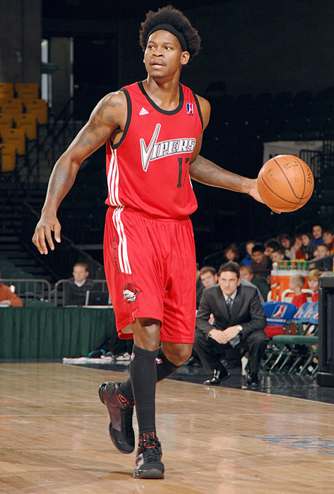 The former Lakers point guard spent parts of two seasons in the NBDL, playing 23 games for the Florida Flame in 2004 and appearing in 18 contests for the Rio Grande Valley Vipers in 2008.