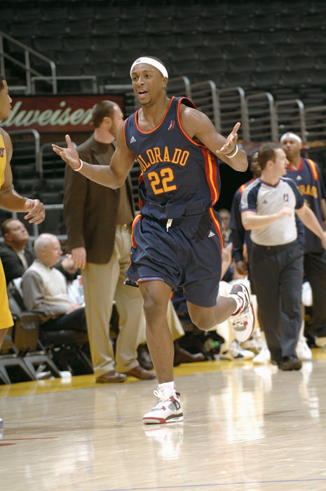 The current CBA guard spent part of the 2005-06 season and most of the 2006-07 season in the D-League, playing eight games for Fort Worth in 05-06 and appearing in 42 games for the Colorado 14ers in 06-07.