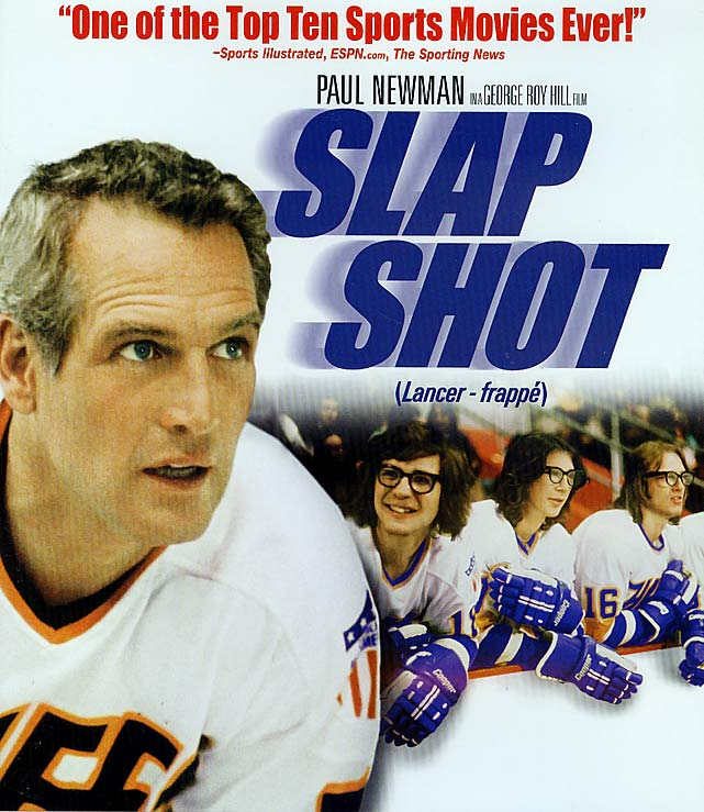 One of the happiest days of my life: a first-class flight to Finland that included lobster for dinner, a comely Latvian seatmate and an  on-board video selection that included Slap Shot. They almost had to drag me off the plane as I tried to finish off a fourth consecutive viewing.