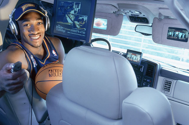 Because you can never have too many TVs in your Cadillac Escalade.