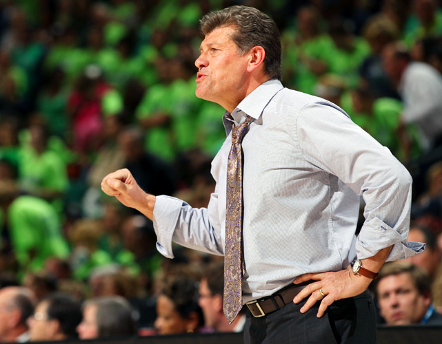 In his quest for an eighth national championship, Geno Auriemma lost to Muffet McGraw's team for the second straight year in the Final Four.