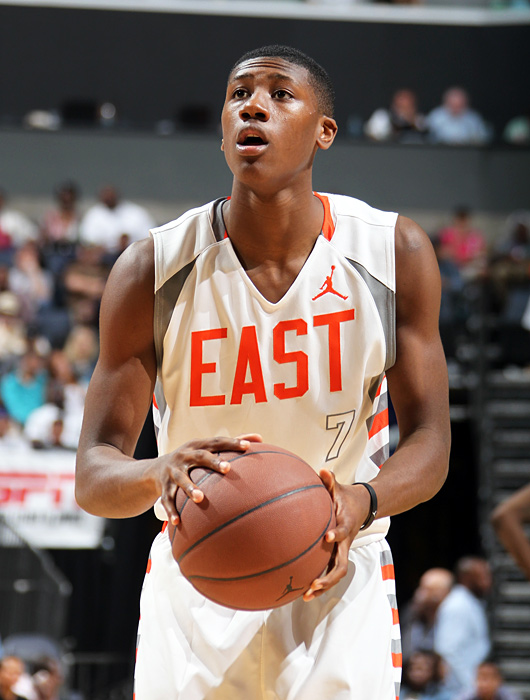 ...6-foot-3 blue-chip point guard Kris Dunn. He finished with eight points, four rebounds and five steals.