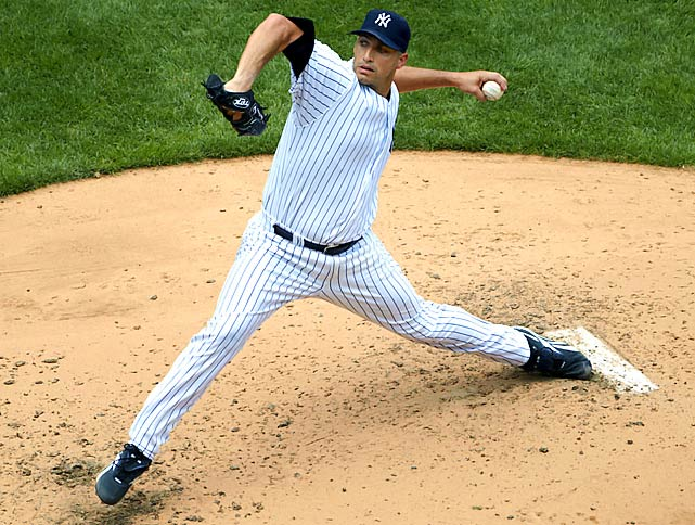 A three-time all-star, Pettitte went 5-4 with a 2.87 ERA in 12 starts for the Yankees.  He fractured his left ankle on June 27 and missed nearly three months before returning late in the season.