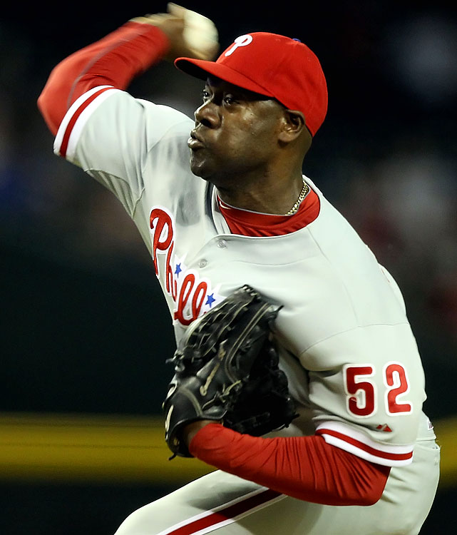 The Phillies reliever threw just 13.2 innings before suffering a torn UCL in his right elbow.