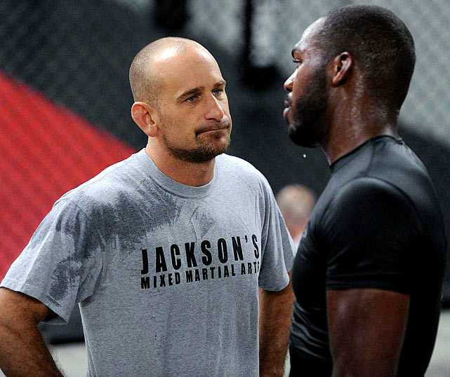 After months of saying he will not coach against his former star pupil, Jackson confirms that he will corner Jones against Evans.