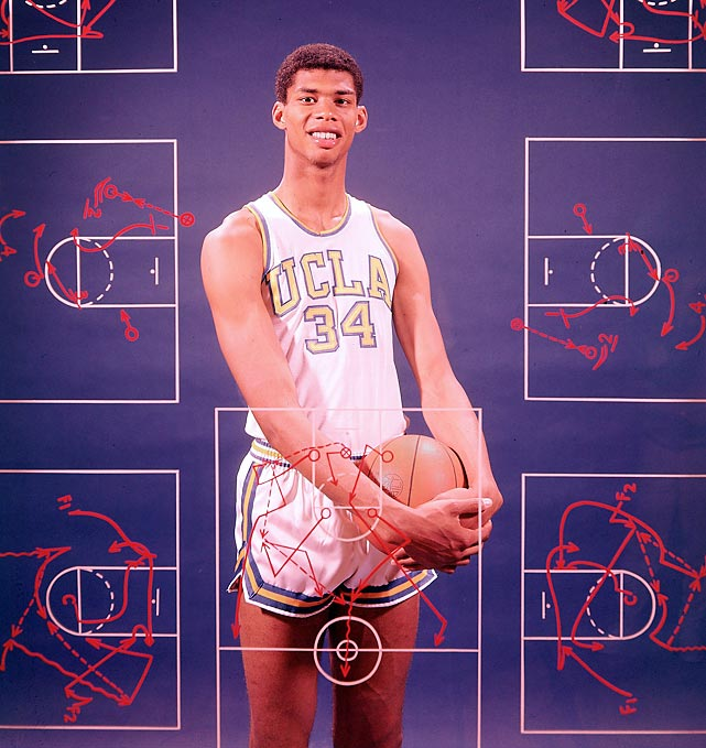 "Kareem Abdul-Jabbar celebrates his 65th birthday on Monday. The Hall of Fame center, known as Lew Alcindor before changing his name in 1971, won six NBA titles, three NCAA national championships at UCLA and is the NBA's all-time leading scorer (38,387 points). He also holds  the NBA record for most games played, minutes played, field goals made, field goal attempts, blocked shots, defensive rebounds, and personal fouls. He also had a memorable role as pilot Roger Murdock in the 1980 film ""Airplane."" In January, Abdul-Jabbar was appointed U.S. Global Cultural Ambassador by Secretary of State Hillary Clinton."