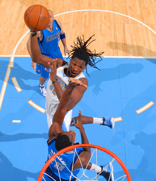 And Faried has a set of dreads that is simply remarkable.