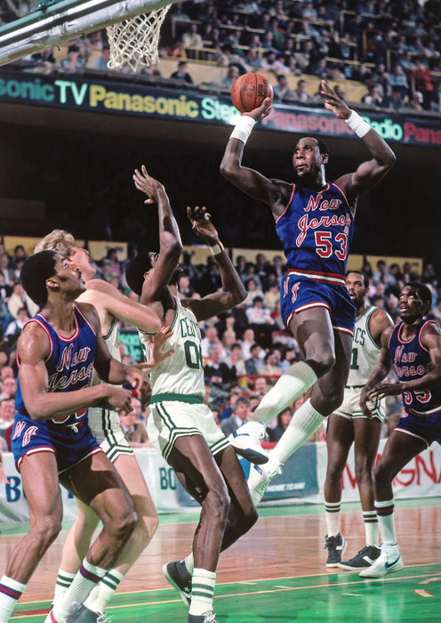 "Few members of the Nets had as much personality as Darryl Dawkins. The center, known as ""Chocolate Thunder,"" played five seasons in New Jersey (1982-87) but only had two productive, injury-free seasons."