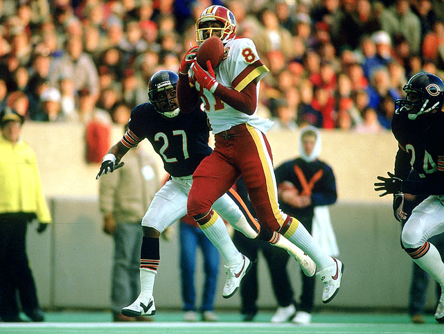 Monk had to wait a while to get into the Pro Football Hall of Fame, but his credentials are more than worthy. <bold>His Credentials: </bold> Inducted into NFL Hall of Fame in 2008, three-time Pro Bowl selection, two-time All-Pro, caught a pass in 183 consecutive games, set then-NFL record with 106 catches in 1984 season, named to NFL's All-Decade Team for the 1980s, three-time Super Bowl winner <bold>Others in Consideration: </bold> Joe Flacco (2008, Ravens); Alfred Williams (1999, Bengals); Eddie Kennison (1996, Rams); Tom Darden (1972, Browns)