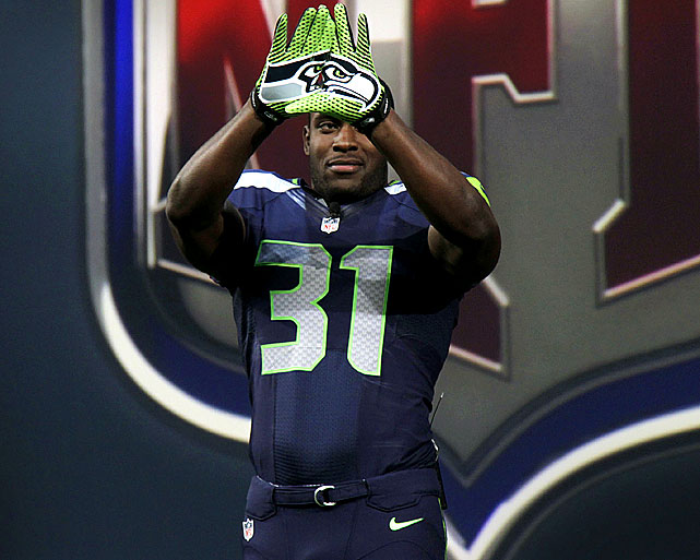 Nike is a new NFL partner, taking over uniform and gear design from Reebok.The designs stayed pretty true to what NFL fans have come to expect. Seattle got some neon green added to its jersey.