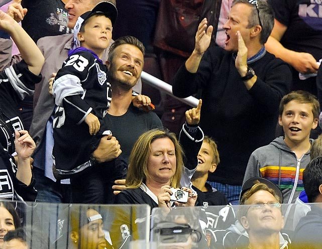 June 11, 2012 at Staples Center in Los Angeles  New Jersey Devils vs. Los Angeles Kings Game 6 of the Stanley Cup Final