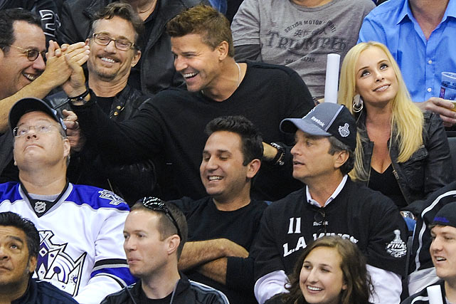June 4, 2012 at Staples Center in Los Angeles  New Jersey Devils vs. Los Angeles Kings Game 3 of the Stanley Cup Final
