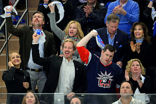 April 12, 2012 at Madison Square Garden in New York  Ottawa Senators vs. New York Rangers  Game 1 of the Eastern Conference Quarterfinals