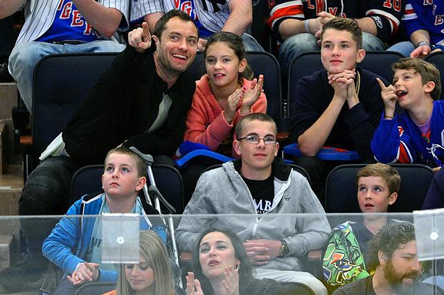 April 14, 2012 at Madison Square Garden in New York  Ottawa Senators vs. New York Rangers  Game 2 of the Eastern Conference Quarterfinals