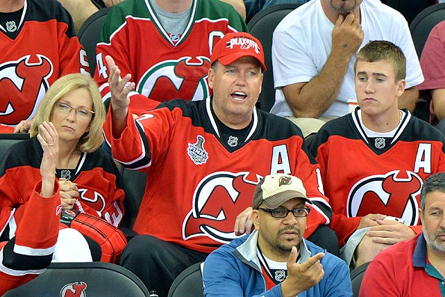 May 30, 2012 at Prudential Center in Newark, NJ  Los Angeles Kings vs. New Jersey Devils  Game 1 of the Stanley Cup Final
