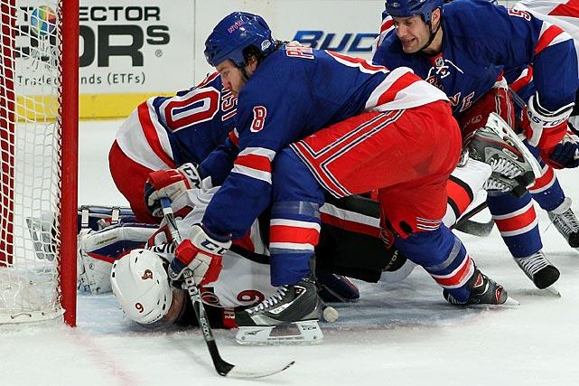 April 12, 2012 at Madison Square Garden Ottawa Senators vs. New York Rangers Game One of the Eastern Conference Quarterfinals