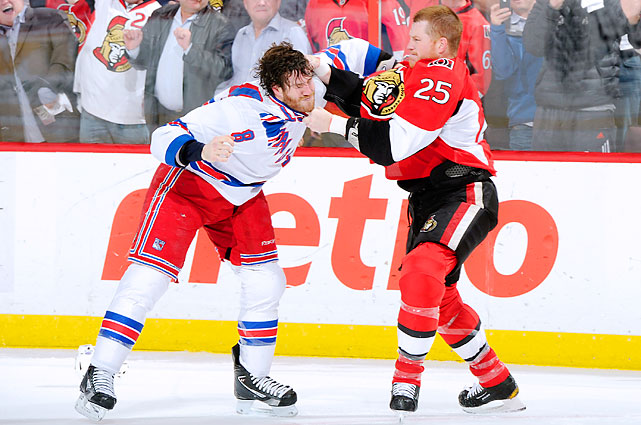 April 23, 2012 at Scotiabank Place New York Rangers vs. Ottawa Senators Game Six of the Eastern Conference Quarterfinals