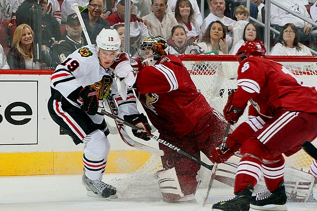 April 14, 2012 at Jobing.com Arena Chicago Blackhawks vs. Phoenix Coyotes Game Two of the Western Conference Quarterfinals