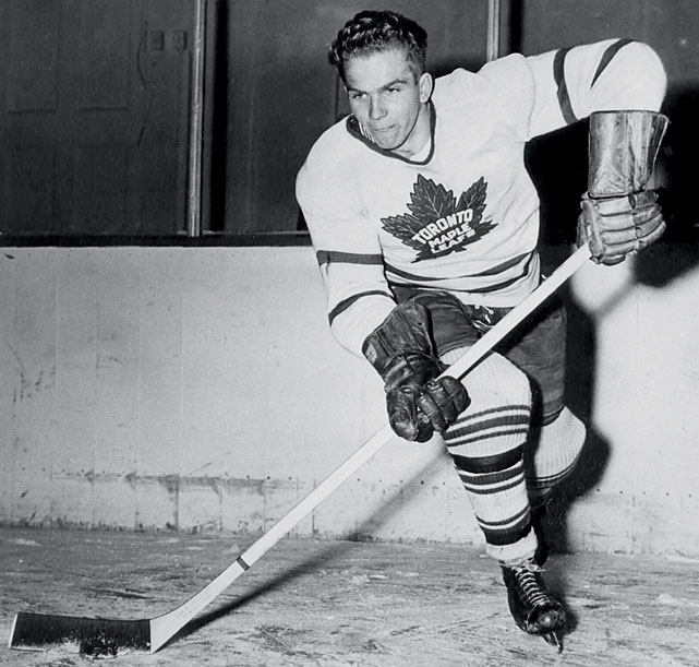 The Maple Leafs defenseman skated with the chalice after each of his first three seasons in the NHL (1947-49). Two years later, he won his fourth with Toronto by scoring the series-winning goal in overtime of Game 5 vs. Montreal. The Leafs' run ended there, and sadly so did Barilko's life as he died in a plane crash that summer.