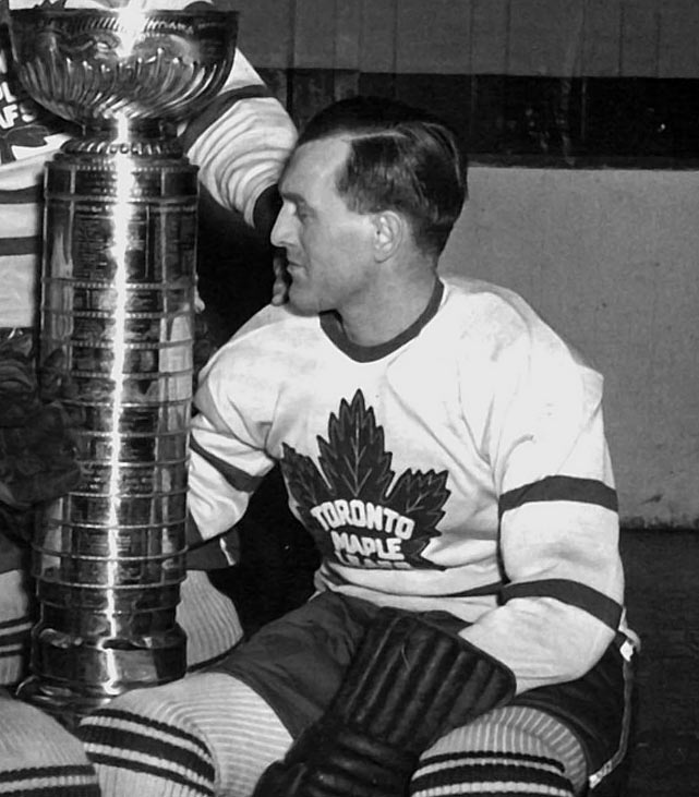A checking winger, Metz won the first of his five Cups as a role player on Toronto's 1942 champions, helping the Leafs come back from an 0-3 hole against Detroit. He scored four goals and added three assists in that series. The Leafs went on to win the Cup again in 1945 and during a three-year streak from 1947 through '49. Metz retired after that last waltz with the mug.