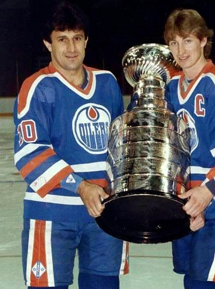 If you're going to play only four seasons in the NHL, doing it with a dynasty is good way to go. Drafted by the Oilers 83rd overall in 1982, the Czech forward was with them for Cups in 1984 and '85. After returning to Europe for two seasons, he returned to Edmonton in time for another skate with the Cup in 1987. Pouzar certainly had a thing for silverware: he won two gold medals, three silver, and two bronze with Czechoslavakia's World European Championship squads.
