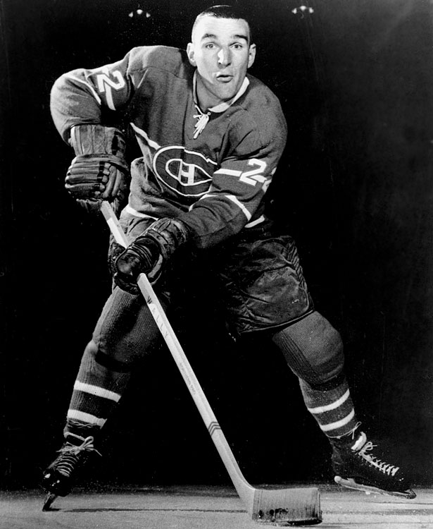The extraordinarily tough winger (who was invited to fight Canadian heavyweight boxing champ George Chuvalo) earned renown as the game's first goon. He took home his share of silverware after riding shotgun on Montreal's smaller, skilled stars on Cup teams in 1965, '66, '68, '69 and '71. He retired after only eight seasons because, he later said, he was afraid he'd kill someone in a fight.