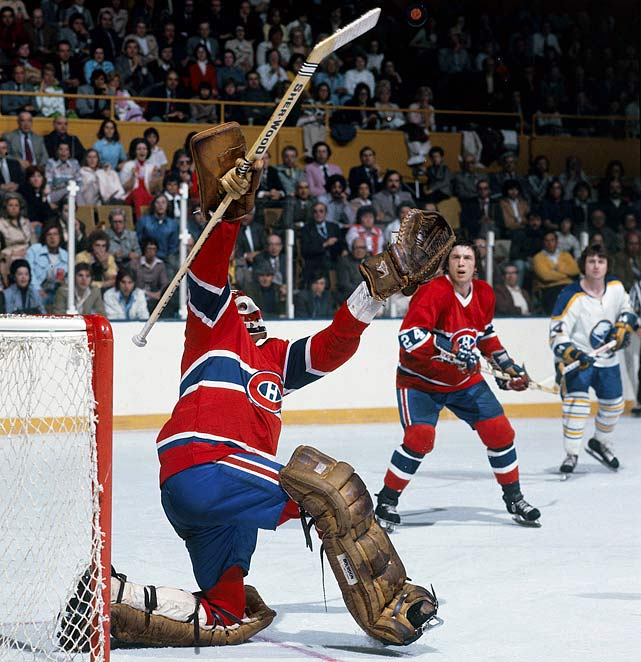 Hard to believe that the legendary Hall of Fame goaltender played only eight seasons, all with Montreal, and won his first Cup (and the Conn Smythe Trophy as playoff MVP) in 1971 before his official rookie season. The rest came in 1973, and from '76 through'79.