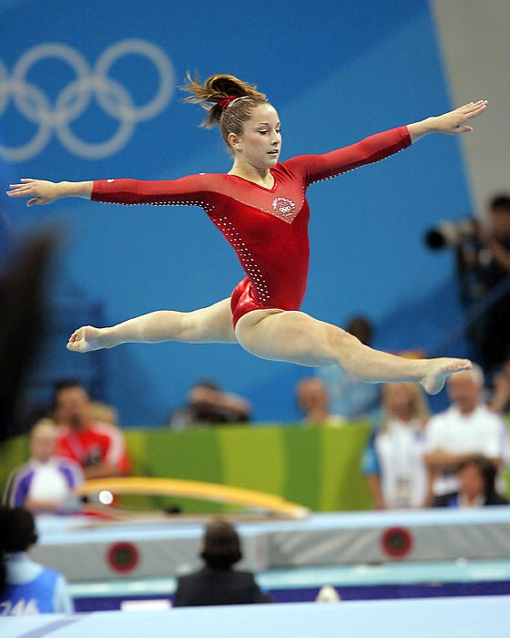 Carly Patterson made history at the 2004 Games in Athens when she became only the second American woman to ever win the individual all-around gold. Mary Lou Retton, of course, was the first to accomplish that feat back in 1984, but critics argue that Retton faced a watered-down field due to the Soviet boycott during those Games. Soon after the 2004 Olympics concluded, it was revealed Patterson was battling several bulging discs throughout the competition. The injury forced her to officially retire from gymnastics in 2006.