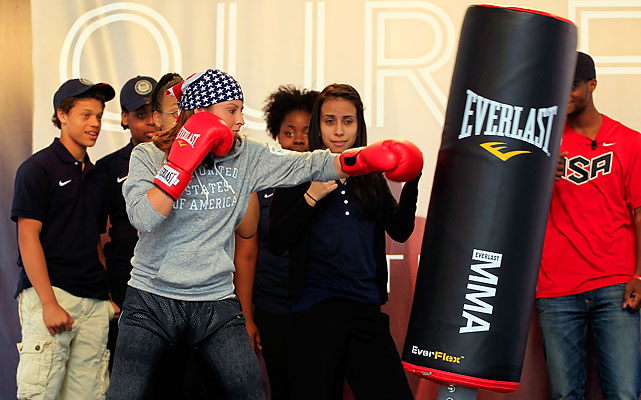 Women's boxing is an Olympic sport for the first time this year. Marlen Esparza is one of the three U.S. hopefuls.