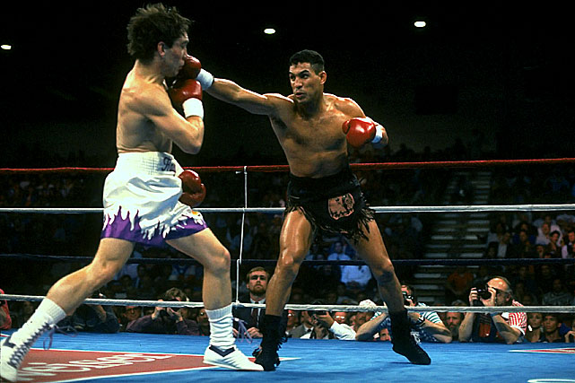 Born in Bayamon and raised in New York's Spanish Harlem, Camacho won titles at junior lightweight, lightweight and junior welterweight, impressing onlookers with his tenacity and courage.