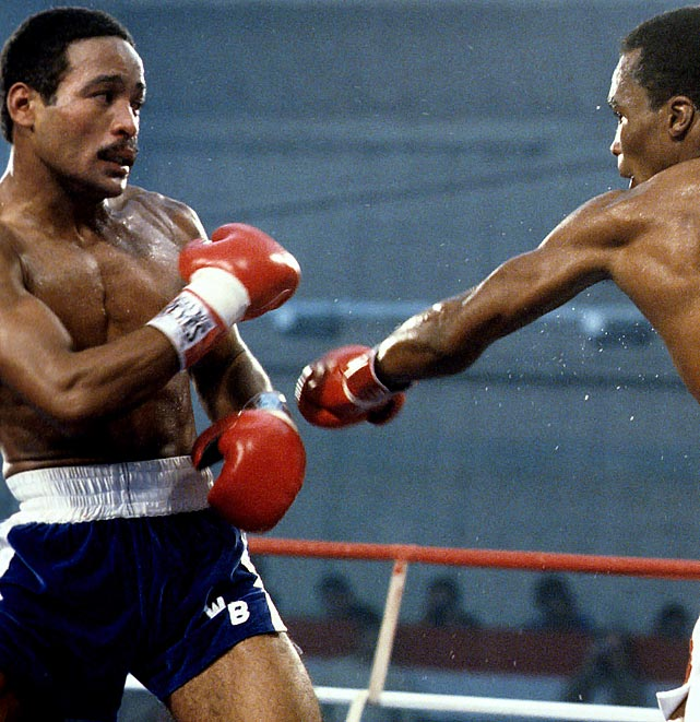 At 17, Benitez became the youngest champion in boxing history with a points victory over Antonio Cervantes for the 140-pound title. After winning the welterweight title -- then losing it to Sugar Ray Leonard in a classic 1979 bout -- he came back to win a third title at 154 pounds.