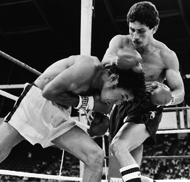 "A world champion at three weights, ""Bazooka"" Gomez was at his best at the 122-pound division, where he made 18 title defenses between 1977 and '83."