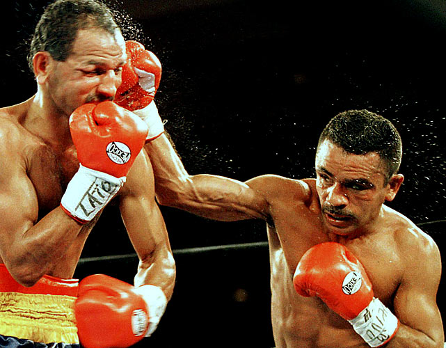 A champion at bantamweight, super bantamweight and featherweight, Vazquez had more than 50 wins (and an impressive 41 knockouts).