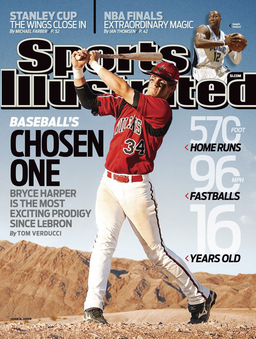 Since being called up to the majors in late April 2012, Nationals outfielder Bryce Harper has been one of the biggest stories in baseball. From his 2009 appearance on the <italics>SI</italics> cover as a high school prospect to his curtain-call home run on his first swing back from a knee injury in 2013, here is a look at the phenomenal Bryce Harper.