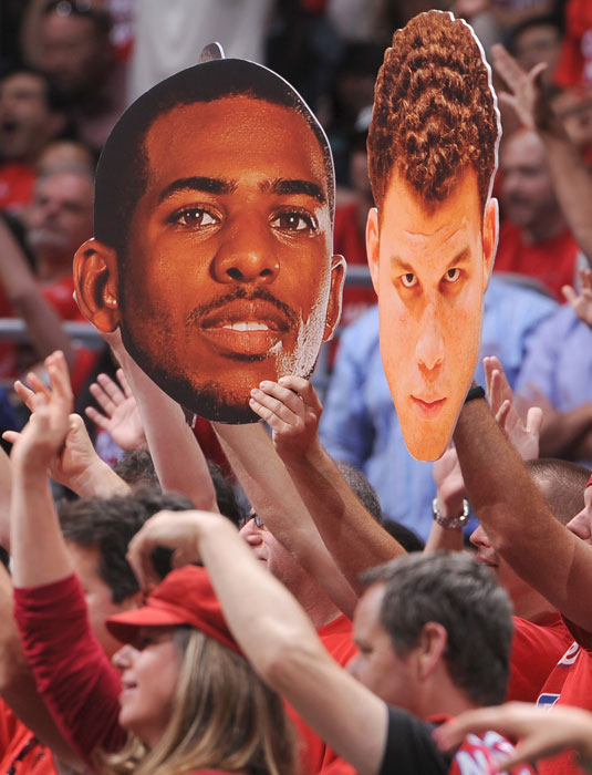 There won't be anymore Chris Paul and Blake Griffin sightings after the Clippers were swept by the Spurs. Fans will always have these fatheads.