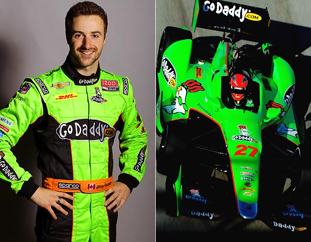 The second-year driver has gained plenty of attention this season because he drives the GoDaddy car that was previously piloted by Danica Patrick. And Hinchcliffe has excelled in that ride, entering the Indy 500 third in points. He starts second on Sunday after falling .0023 seconds short of Ryan Briscoe in the race for the pole. It was the closest margin between first and second in Indianapolis 500 qualifying history. With a Chevrolet powering his race car, look for him to be up front as the laps wind down at Indy.