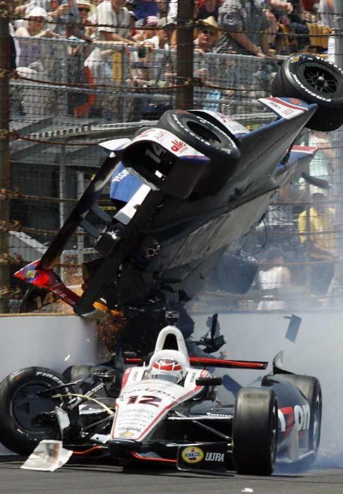 IndyCar introduced a new, safer car this season.