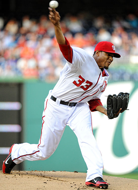 Washington's Edwin Jackson matched Arrieta, allowing one run in eight innings with eight strikeouts and one walk.