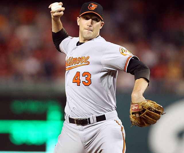 Orioles closer Jim Johnson allowed a two-out home run in the ninth to Ryan Zimmerman. But Johnson struck out Adam LaRoche for his 15th save in as many chances this year, and his 23rd straight.