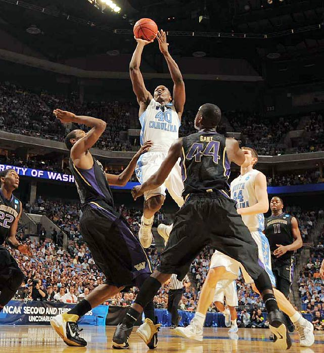 No one is predicting the next coming of Kevin Durant, but Barnes is seen by most as a high-level scorer whose skills should translate at the next level. He averaged 17.1 points last season, but left Tar Heels fans wanting more at the end as he shot just 32.8 percent in four NCAA tournament games. Still, executives are confident that the likely top 10 pick will be a productive pro even though he's not a great athlete and his dribble-drive game needs work.