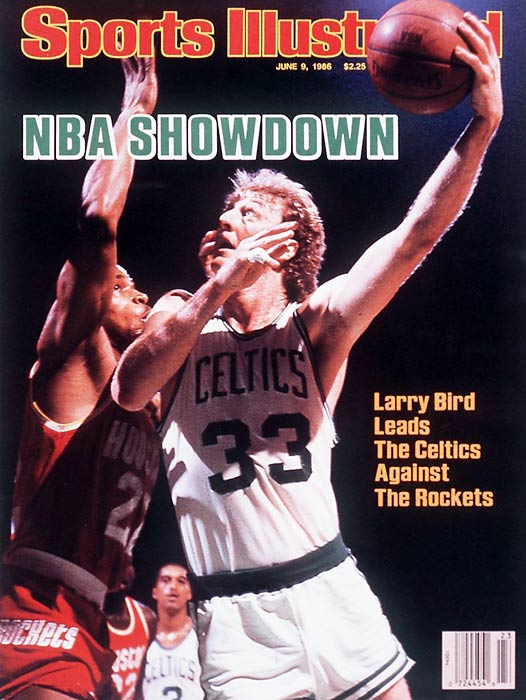 The third and final title of the Larry Bird era included a franchise-record 67 regular-season victories and a third consecutive MVP for Bird, who got plenty of help from Kevin McHale, Robert Parish, Dennis Johnson, Danny Ainge and first-year Celtic Bill Walton.
