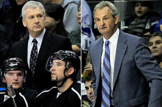 With the Kings off to a mediocre 15-14-4 start, on a four-game losing skid, and ranked last in the league in offense, coach Terry Murray was dismissed on December 20, 2011. Eight days later, GM Dean Lombardi announced the hiring of Darryl Sutter as the team's new head coach.  Sutter would keep the Kings' eye on defense, but he made them a much more aggressive forechecking team and they promptly went on a 5-0-2 run, finishing with a 40-27-15 record, good for 95 points and the eighth playoff spot in the West.