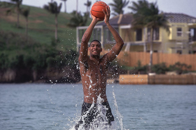 Here are some rare photos of the 14-time All-Star, two-time NBA MVP and three-time Finals MVP Tim Duncan.