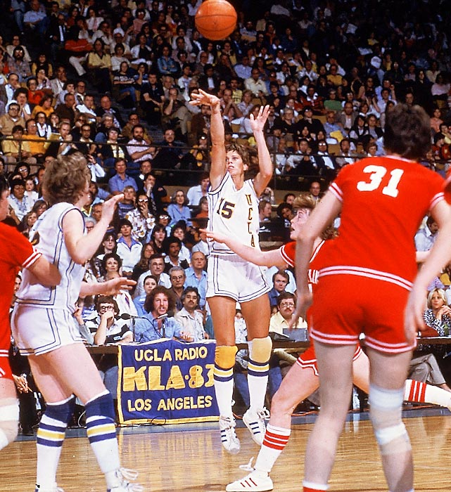 Ann Meyers didn't intend to be the pioneer for female athletes that she was, but she's credited with many firsts for women's basketball. She was the first high school player to make the U.S. women's basketball team, a member of the first women's Olympic basketball team, the first female named to four All-America teams and the first woman to sign a contract with an NBA team.