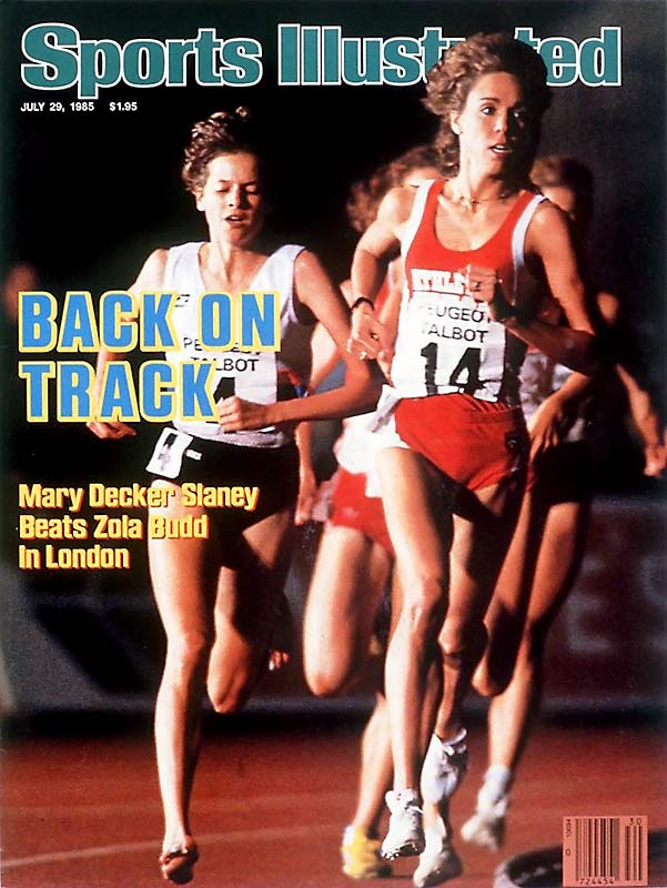 After stealing American hearts as a 14-year-old in braces and pigtails when she won the 800 meters in a 1973 USA v. USSR dual meet, Decker grew up to be the only runner -- male or female -- to hold every American record from 800 meters to 10,000 meters. In 1983, SI named her Sportsman of the Year. The former University of Colorado track star set 36 national records and 17 official and unofficial world records in multiple distances yet would become most famous for a race she didn't win: At the 1984 Olympic Games, Decker was heavily favored to medal in the 3,000 meters but got tangled up with South Africa's Zola Budd midway through the race. The image of Decker falling on the track remains the most indelible of her career.