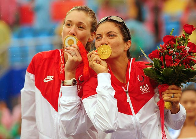 Misty May-Treanor and Kerri Walsh are arguably the best beach volleyball team ever. The duo paired up for the 2001 season, and dominated the AVP and FIVB beach volleyball tours -- they won 89 straight games during the 2003-2004 season before winning their first of two Olympic gold medals.
