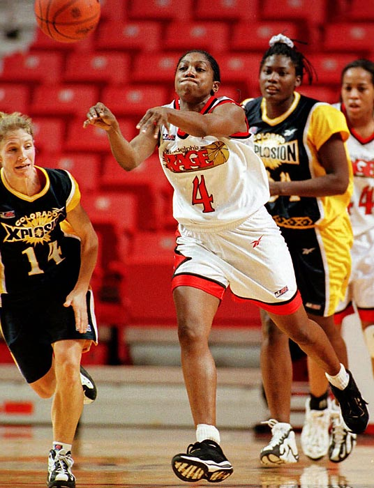 No female basketball player has been on more Olympic teams than Teresa Edwards, who played in five Games (1984, 1988, 1992, 1996 and 2000). She's won four gold medals and a bronze (in 1992). As point guard at Georgia, Edwards led the Bulldogs to two Final Four appearances and was a two time All-America. She was drafted by the Minnesota Lynx in 2003, but only played for two seasons.