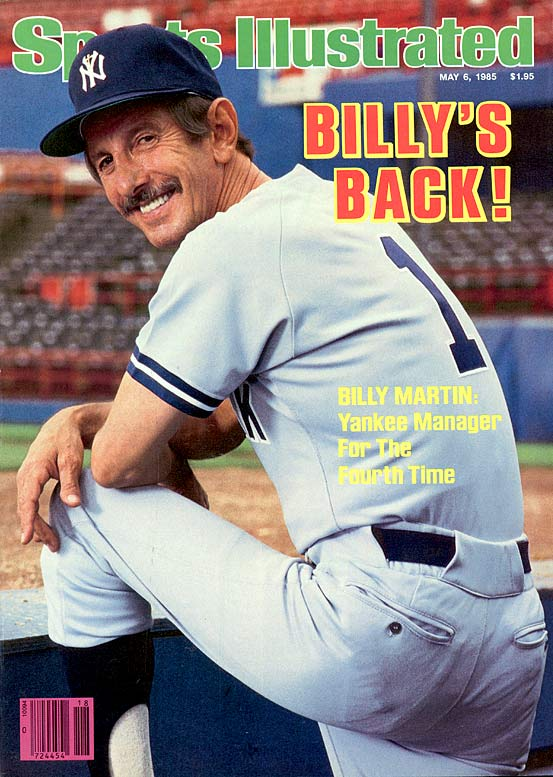 The Yankee player and manager was killed on Christmas Day 1989 in a one-car accident in Port Crane, N.Y. At the time of his death, Martin was preparing for his sixth stint as Yankees manager.