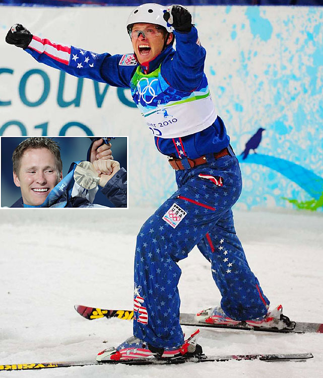 "Peterson was known for his ultimate highs -- non higher than his Olympic silver-medal-winning performance in 2010 -- and his even more frequent ultimate lows. The three-time Olympic aerials skier was found dead in a remote canyon in Utah in what police called a suicide. Peterson, whose signature trick, ""The Hurricane,"" symbolized his lifestyle, called 911 before shooting himself, police said. He had been cited for drunken driving in his native Idaho and had pleaded not guilty the previous week."